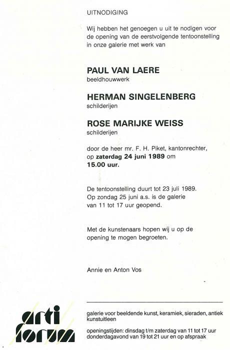 Galerie-ArtiForum,-Voorburg,-1989
