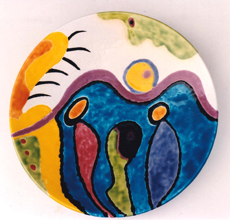 Steengoedschaal,46 cm Struktuur 68, 1996